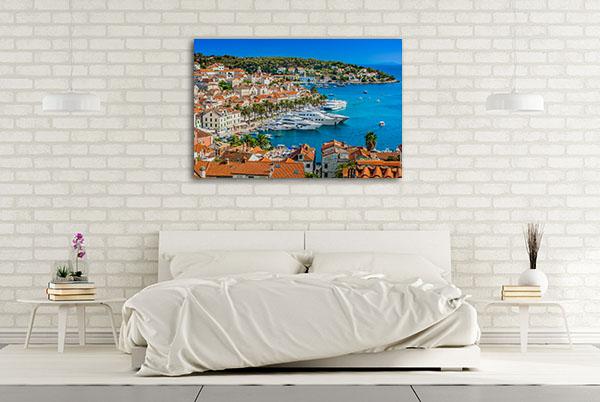 Hvar Croatia Art Picture