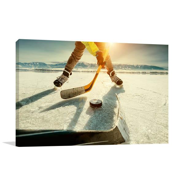Ice Hockey Photo Artwork