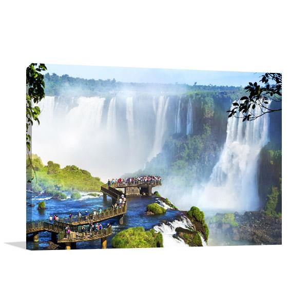 Iguazu Falls Print Photo Art