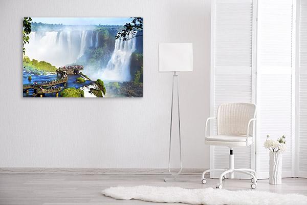 Iguazu Falls Canvas Art