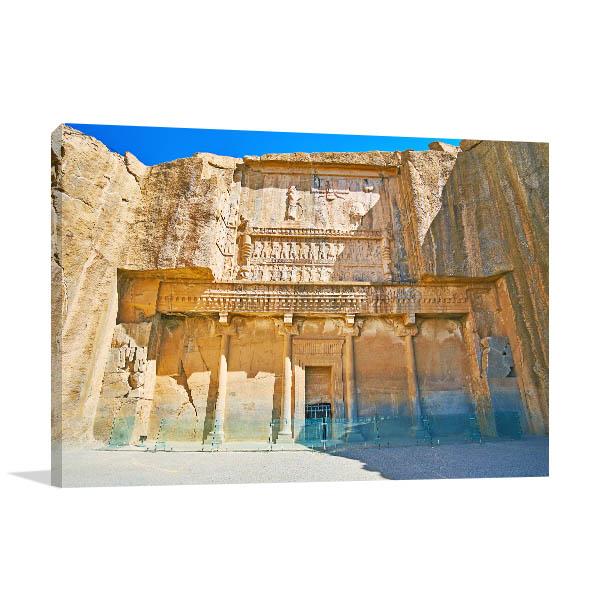Iran Art Print Persepolis Artwork Photo