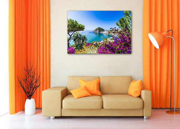 Ischia Italy Picture Canvas