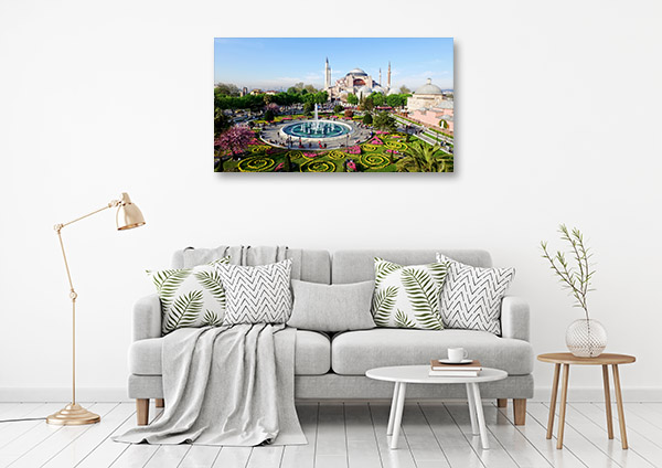 Istanbul Art Print Hagia Sophia Wall Canvas