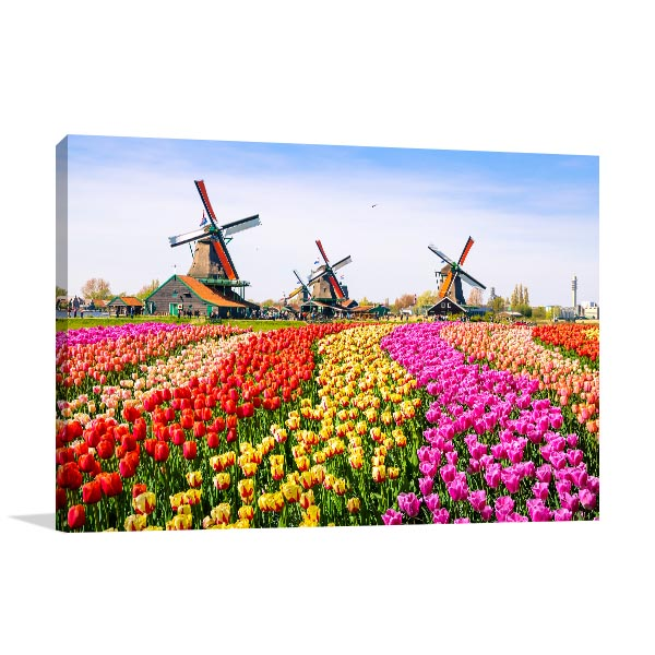 Keukenhof Canvas Photo Print