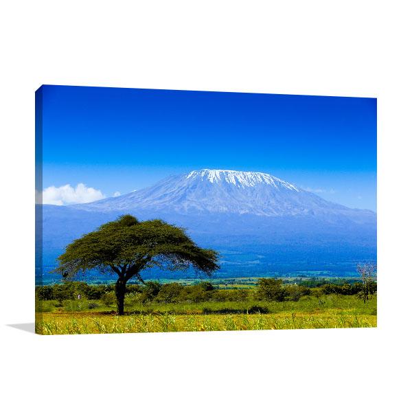Kilimanjaro Wall Art Print