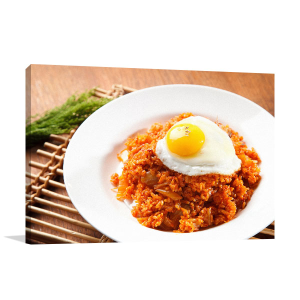 Kimchi Rice Photo Art