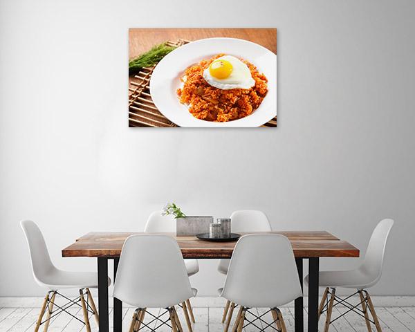 Kimchi Rice Canvas Artwork