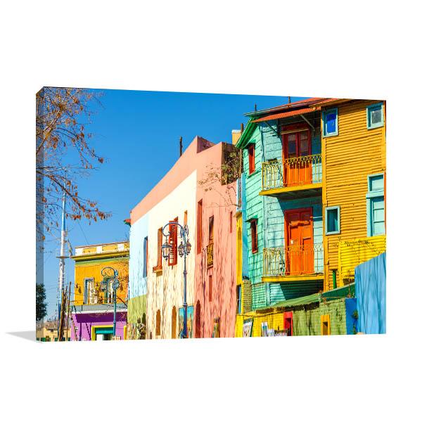 La Boca Buenos Aires Wall Art Print