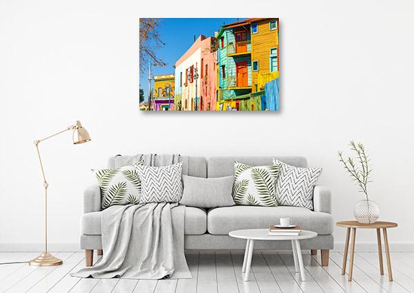 La Boca Buenos Aires Canvas Art Prints