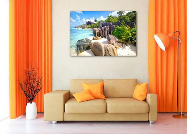 La Digue Seychelles Picture Print
