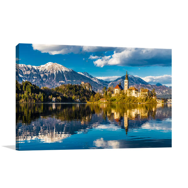 Lake Bled Slovenia Wall Art