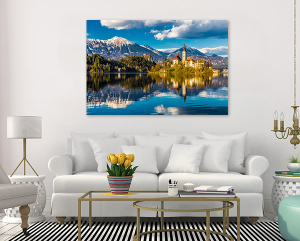 Lake Bled Slovenia Art Prints