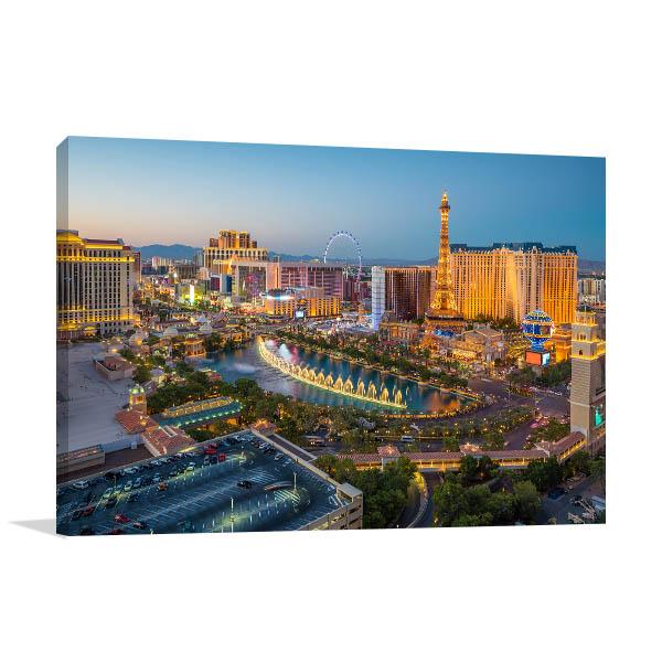 Las Vegas Photo Print