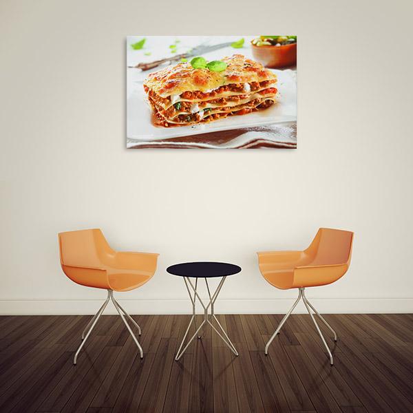 Lasagna Canvas Art Prints