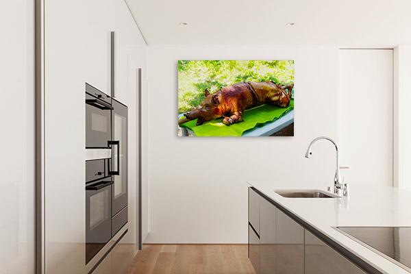 Lechon Art Print Whole Photo Canvas