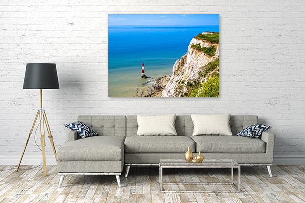 Lighthouse Art Print Beachy Head Photo Artwork
