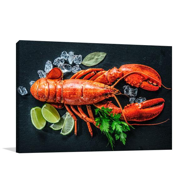 Lobster Art Print Whole Wall Artwork
