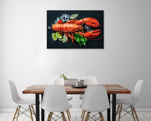 Lobster Art Print Whole Photo Artwork