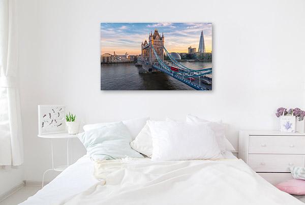 London Art Print Tower Bridge Artwork Wall