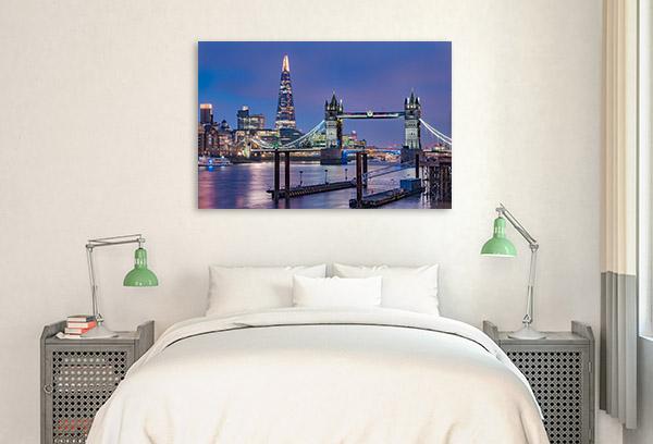 London Wall Art Print The Shard Photo Artwork