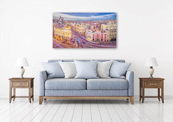 Madrid Art Print Spain Artwork
