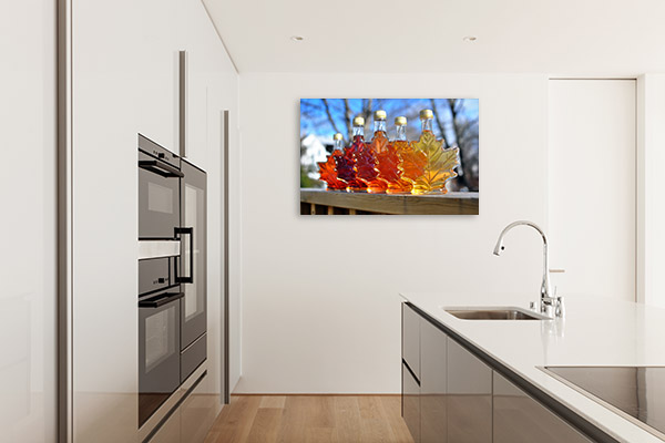 Maple Syrup Bottles Print Wall Art