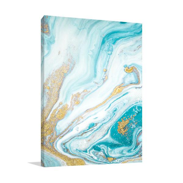 Marble Ocean 2 Artwork Wall