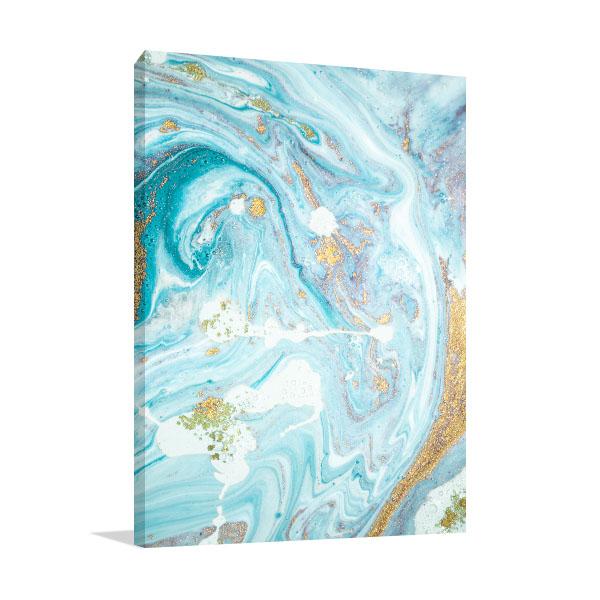 Marble Ocean 3 Canvas Wall Art