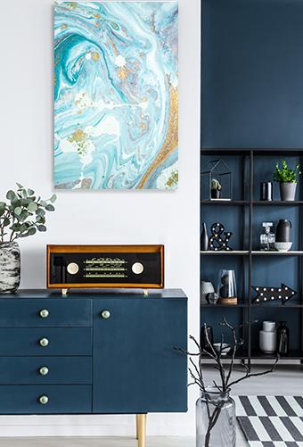Marble Ocean 3 Wall Artwork