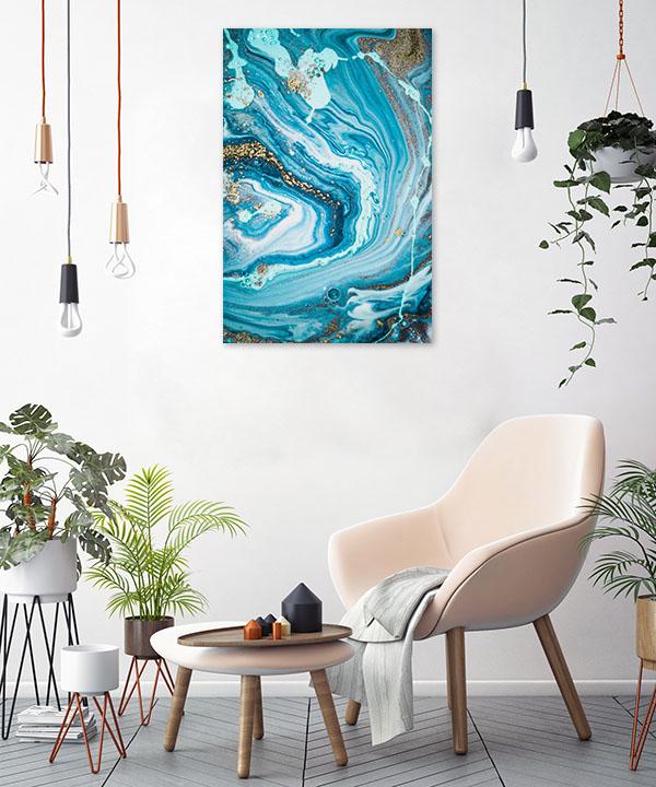 Marble Ocean 4 Print Artwork