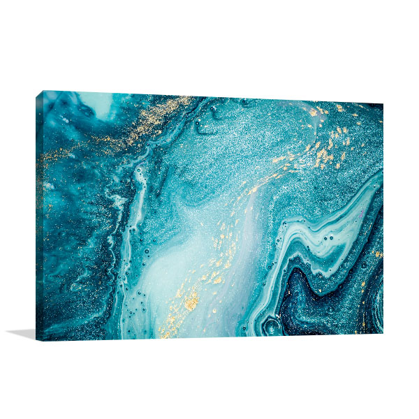 Marble Ocean 5 Prints Canvas