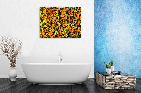 Marigold Print Wall Art
