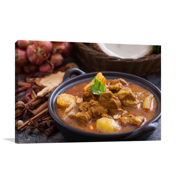 Massaman Curry Photo Print