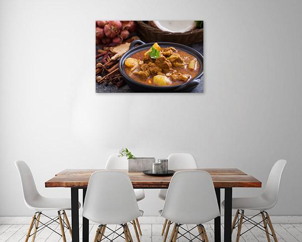 Massaman Curry Artwork Canvas