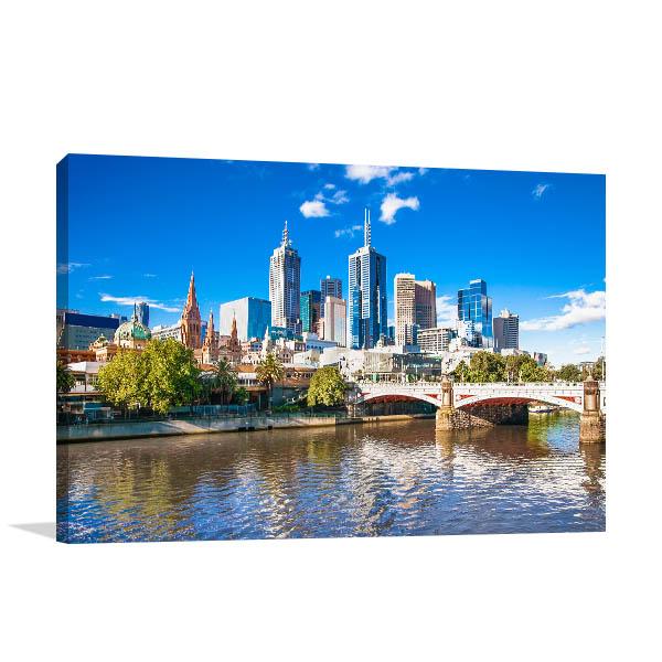 Melbourne Art Print CBD Photo Artwork