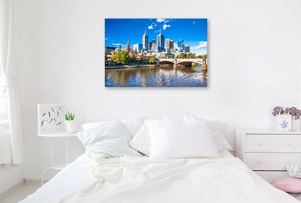 Melbourne Art Print CBD Artwork Photo