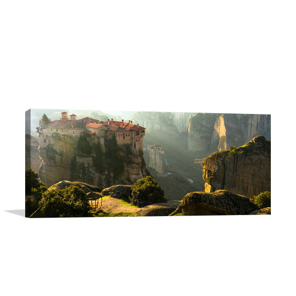 Meteora Greece Wall Photo