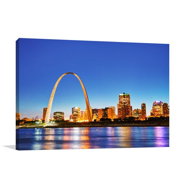 Missouri Art Print Gateway Arch Artwork Picture