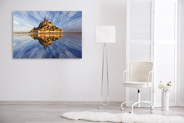 Mont St Michel Canvas Photo Print