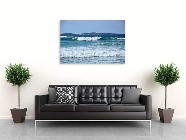 Montague Island Canvas Art Print Beautiful Beach Canvas Art