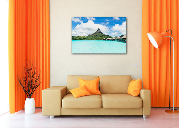 Moorea Island Canvas Prints