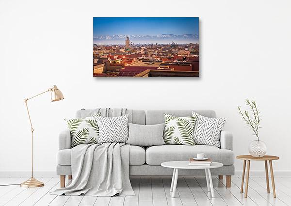 Morocco Art Print Marrakesh Picture Canvas