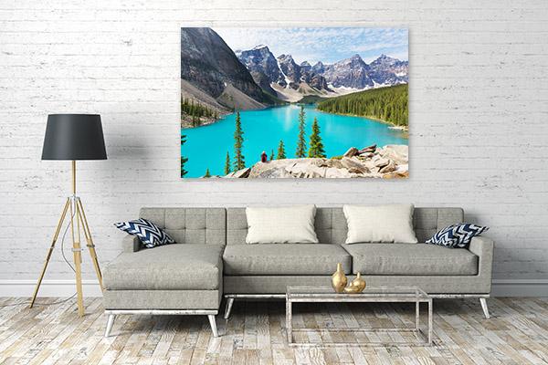 Morraine Lake Canada Prints Canvas