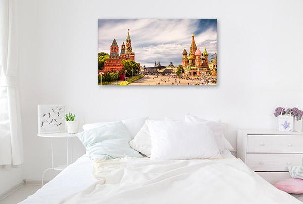 Moscow Art Print Kremlin Canvas Photo