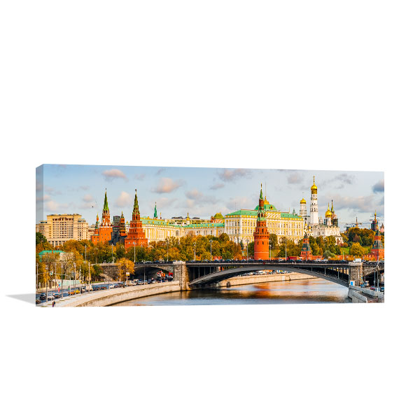 Moscow Art Print Russia Artwork Picture