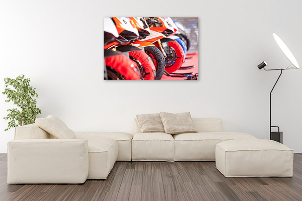 Motorcycle Wheels Wall Art