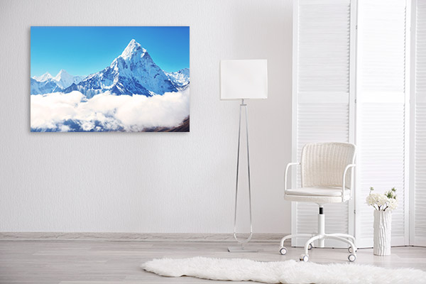 Mt Everest Top Picture Art