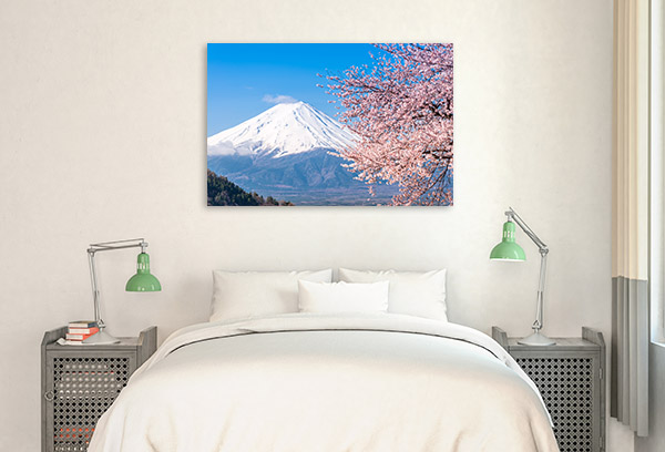 Mt Fuji in Spring Art Picture