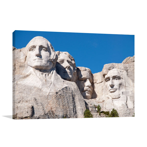 Mt Rushmore Print Picture