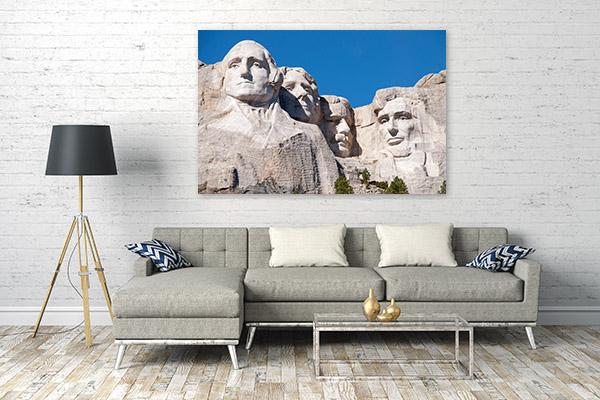 Mt Rushmore Wall Artwork